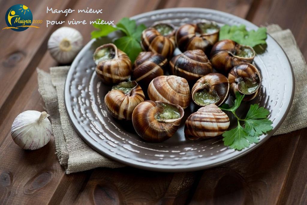 Recette minceur - Escargot huile d'olive persillée