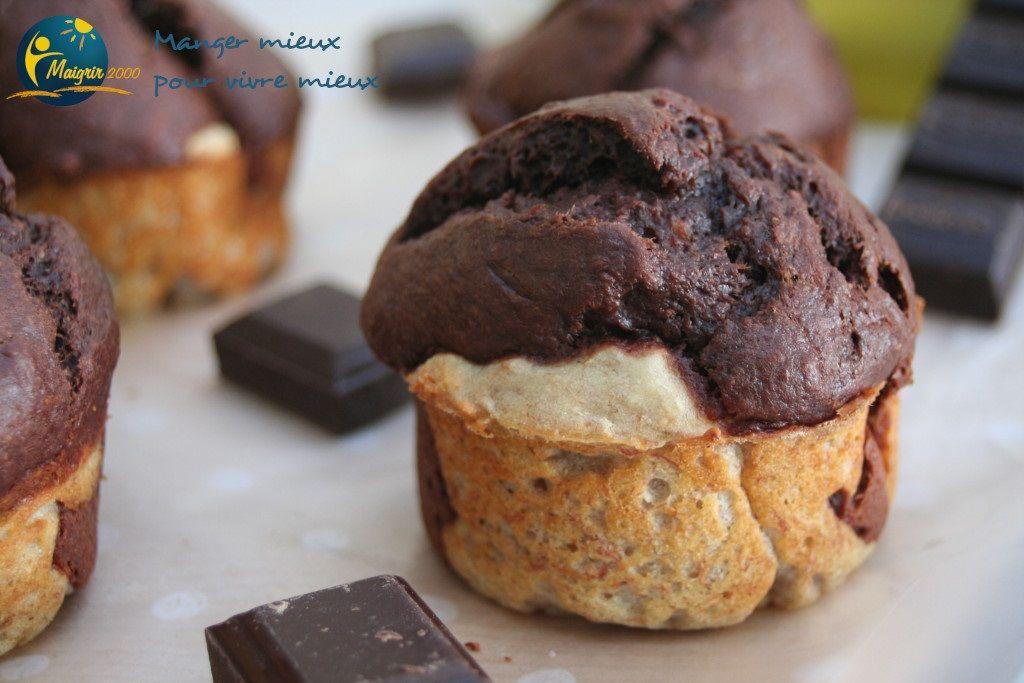 Recette minceur - Muffins express